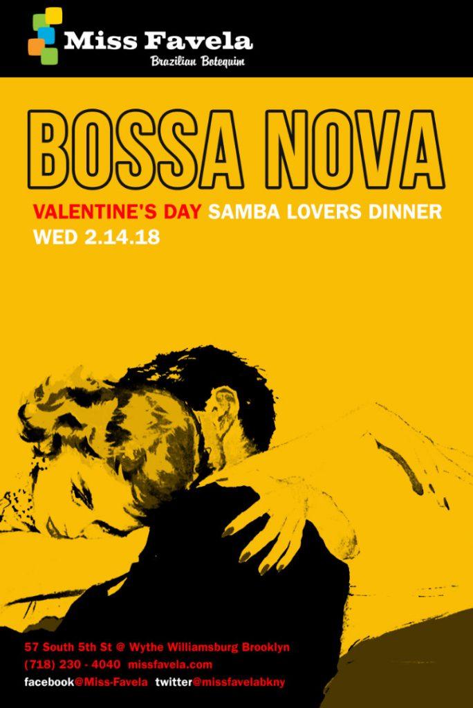 Miss Favela Valentine's Day poster