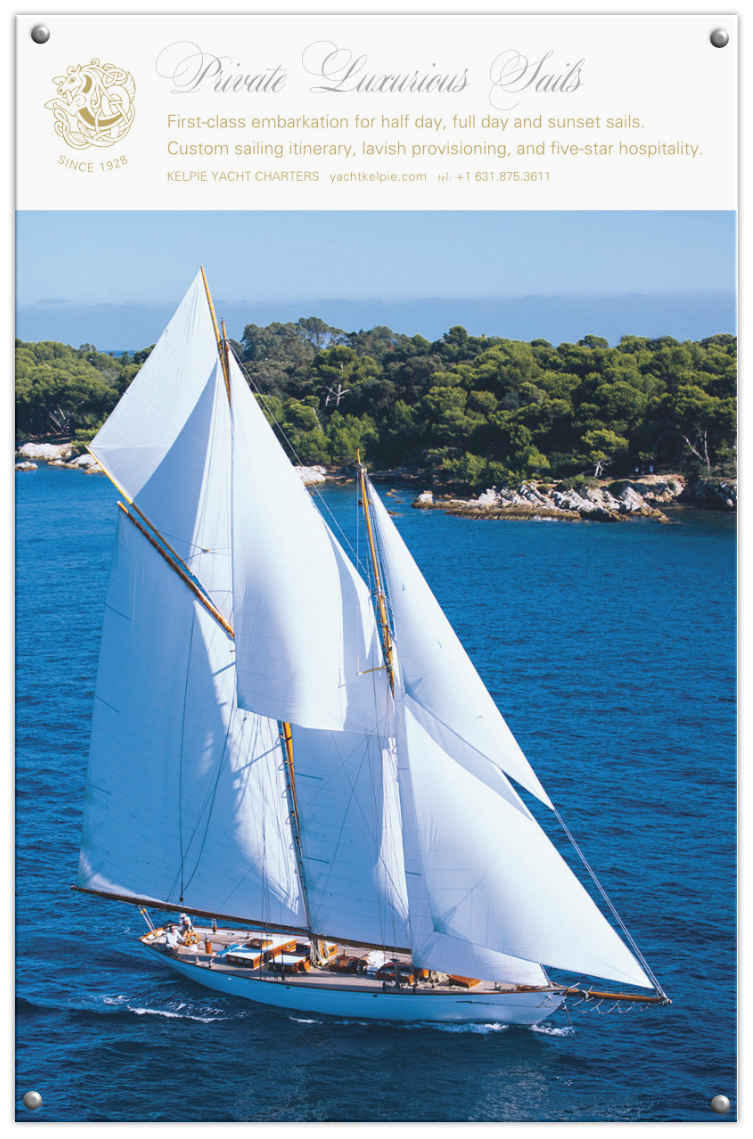 Kelpie Yacht Charters poster